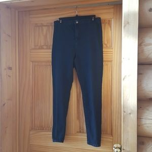Flat front skinny jean